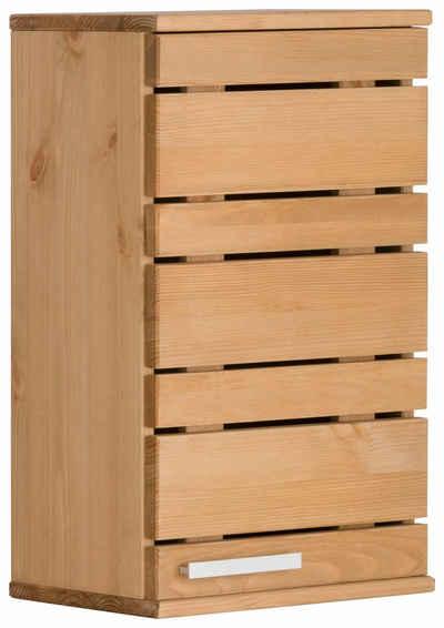 Home affaire Hängeschrank »Josie« Breite 30 cm, aus Massivholz, verstellbarer Einlegeboden, Metallgriff