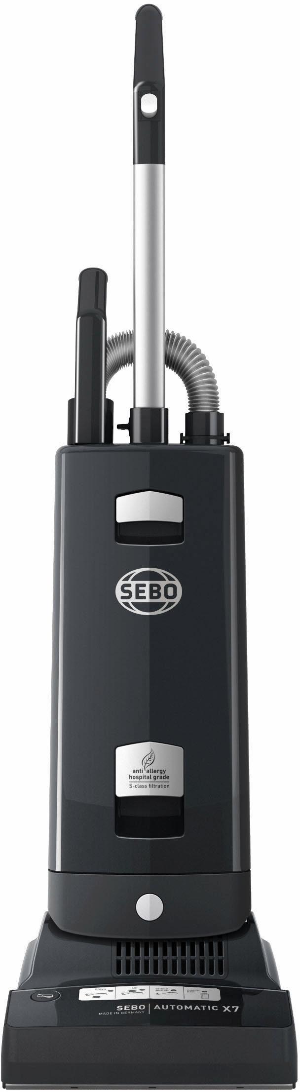 SEBO Bürstsauger SEBO AUTOMATIC X7 graphit, 890 Watt, mit Beutel, Automatische Höheneinstellung der Bürste
