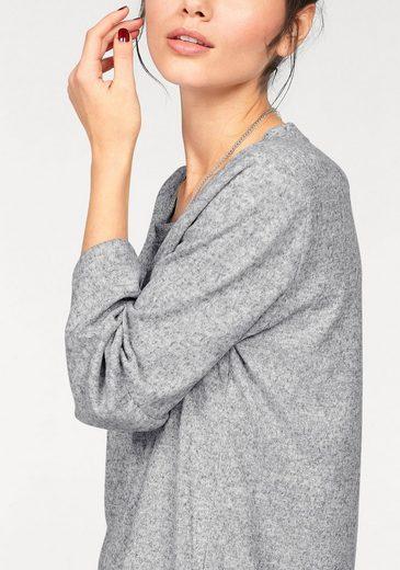 KAFFE Jerseykleid NINETTE, mit Volant-Ärmeln