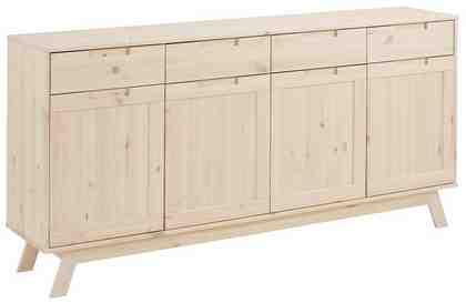Home affaire Sideboard »Ohio«, im traditionellem Design und vielen Stauraummöglichkeiten, Breite 169 cm