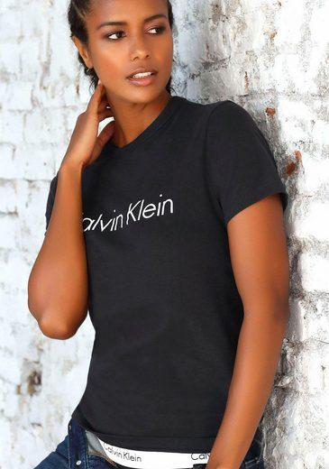 Calvin Klein T-Shirt mit großem Logodruck