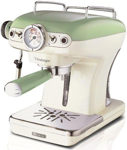 Ariete Espressomaschine 1389 Vintage grün-weiß | Küche und Esszimmer > Kaffee und Tee > Espressomaschinen | Ariete
