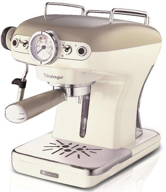 Ariete Espressomaschine 1389 Vintage creme-weiß   Küche und Esszimmer > Kaffee und Tee > Espressomaschinen   Ariete
