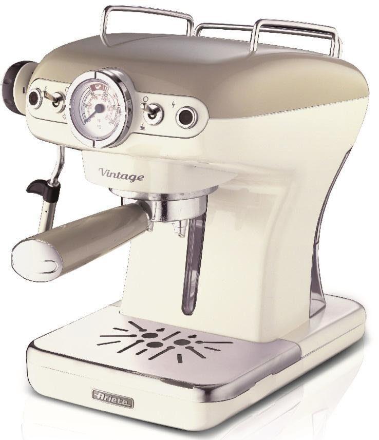 Ariete Espressomaschine 1389 Vintage creme-weiß