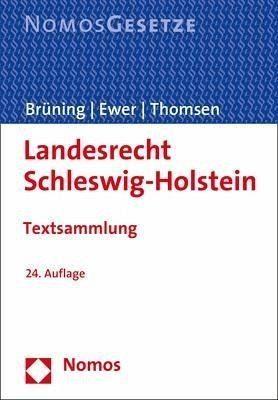 Broschiertes Buch »Landesrecht Schleswig-Holstein«