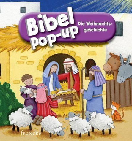 Buch mit Papp-Einband »Bibel-Pop-up Die Weihnachtsgeschichte«