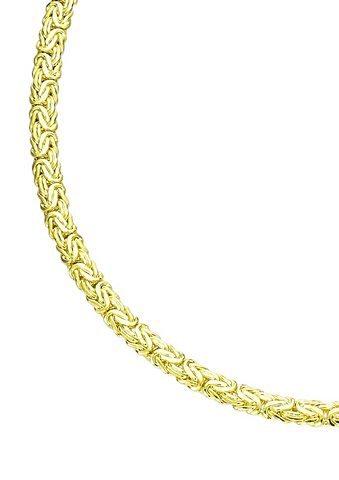 firetti Halsschmuck: Collier/Kette in Königskettengliederung in Gold 585