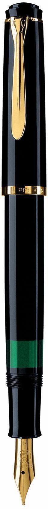 Pelikan Füllhalter, »Classic M 200, Schwarz, vergoldete Edelstahlfeder, Federbreite B«