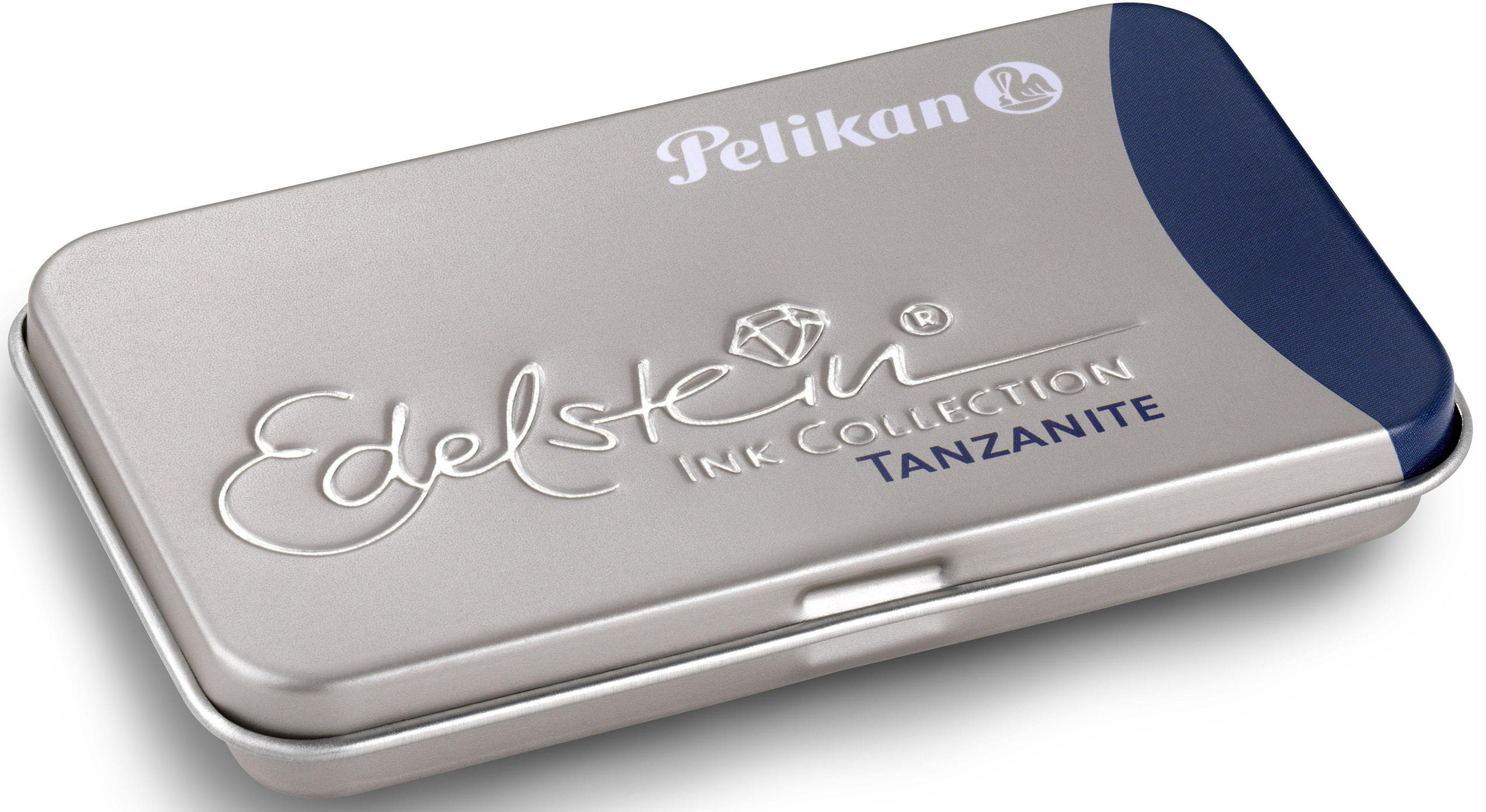 Pelikan Tintenpatronen, »Edelstein® Ink im Metalletui, Tanzanite«