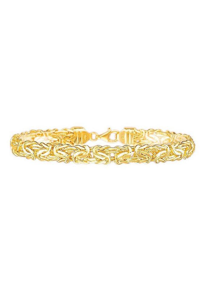 firetti Armschmuck: Armband in Königskettengliederung in Gold 585