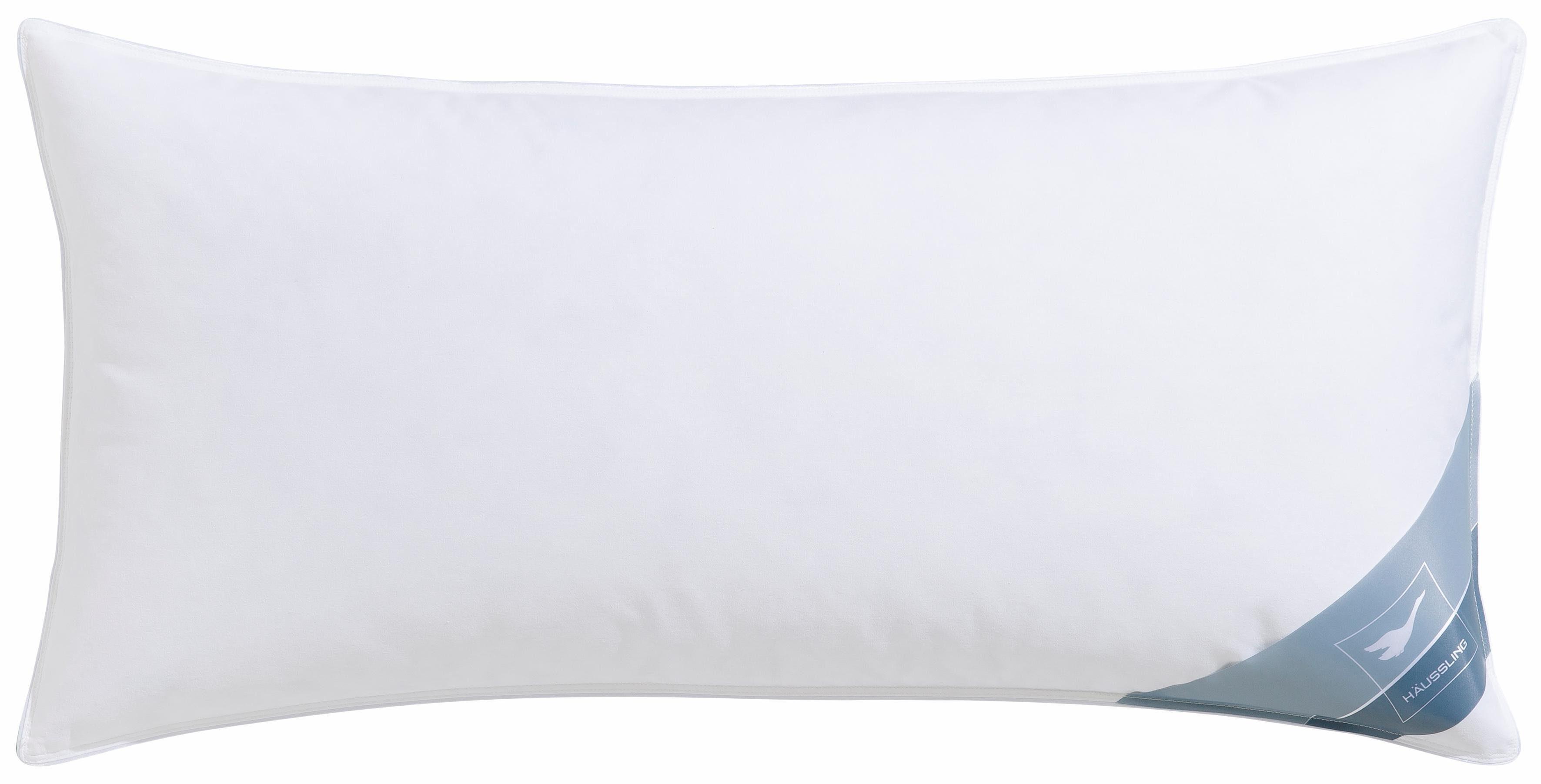 Federnkopfkissen, »Daune Spezial«, Häussling, 85% Federn, 15% Daunen, 40x80 cm