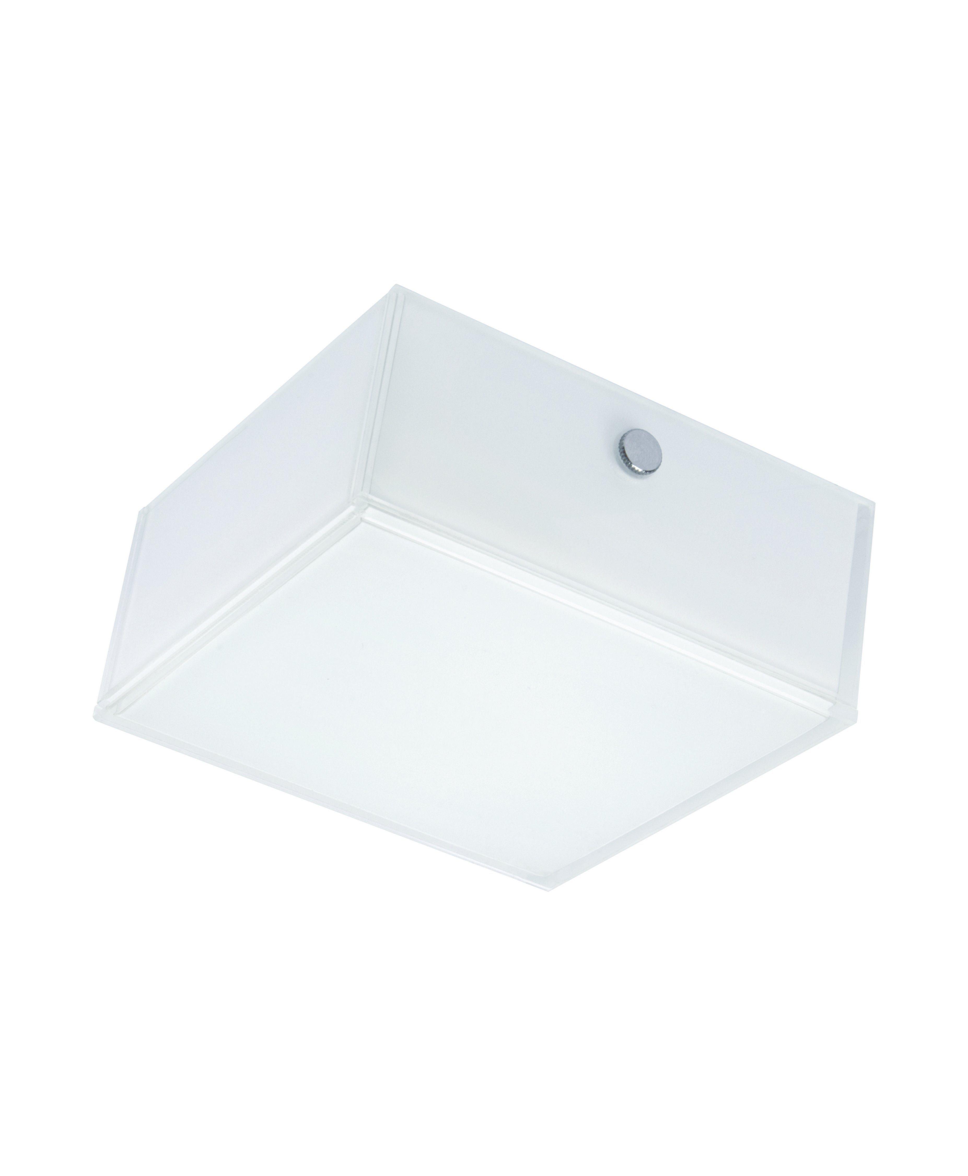 LED Wand- und Deckenleuchte mit Glasabdeckung / 11 cm »LUNIVE QUADRO 8 W 830 3000 K«