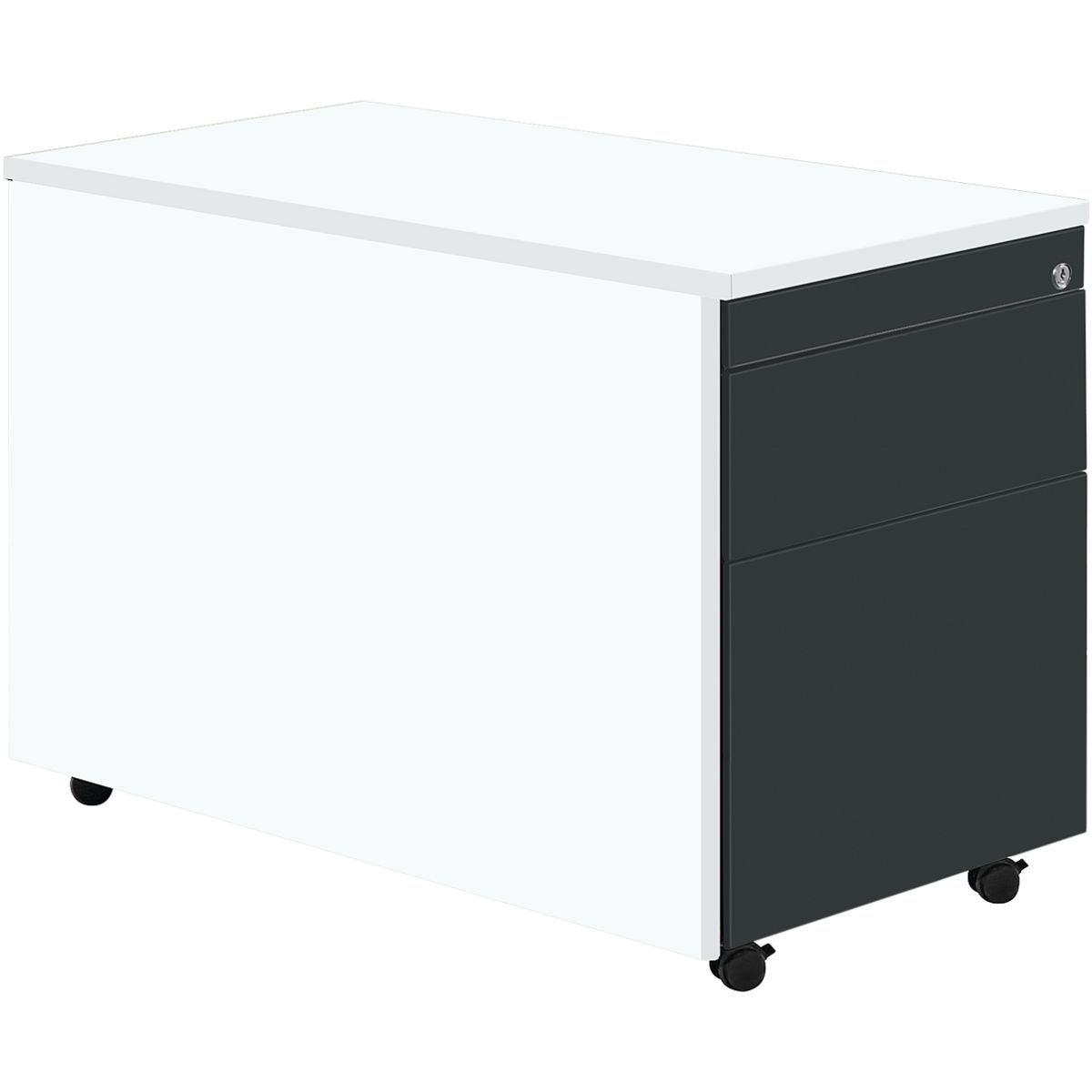 Liebenswert Rollcontainer Kunststoff Referenz Von Er Mit Hängeregistratur »kontoro«