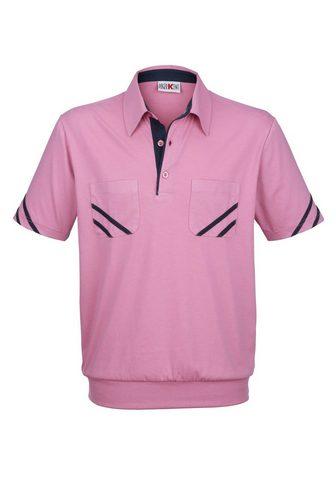 ROGER KENT Polo marškinėliai su Kontrastpaspelier...