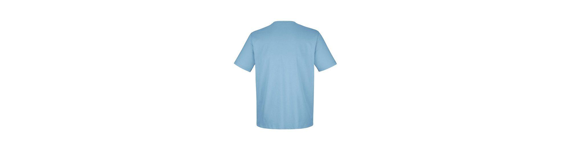 Erkunden Roger Kent T-Shirt mit Webbandbesatz Günstig Kaufen Große Überraschung Billige Echte Offiziell xpbizDF9o
