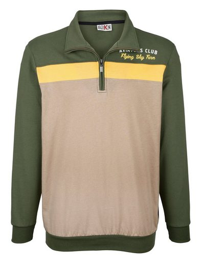 Roger Kent Sweatshirt in sommerleichter Qualität