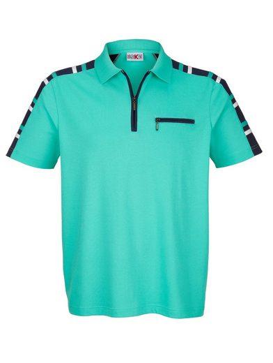 Roger Kent Poloshirt mit praktischer Brusttasche