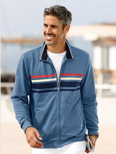 Roger Kent Sweat Jacket With Practical Bags