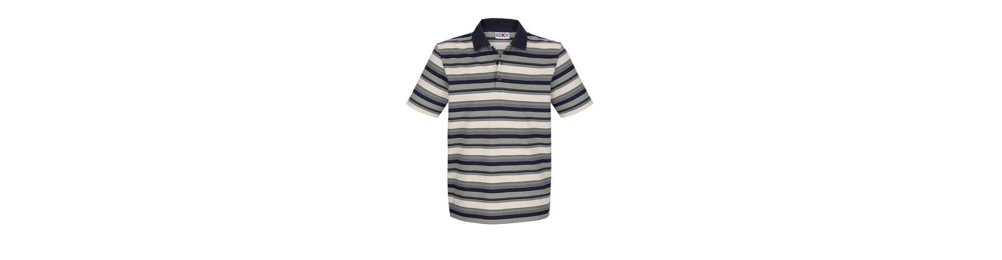 Roger Kent Poloshirt mit garngefärbtem Streifenmuster Günstig Kaufen Angebote CtE9O8uP