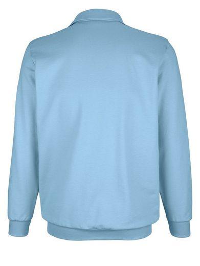 Roger Kent Sweatshirt mit Brusttasche