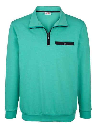 df37ad233b23 Sweatshirts   Sweatjacken mit Polokragen online kaufen   OTTO