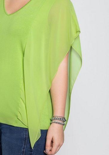 An Sheego Chiffon Style Der Mit Seitennaht Trägertop rffIzq