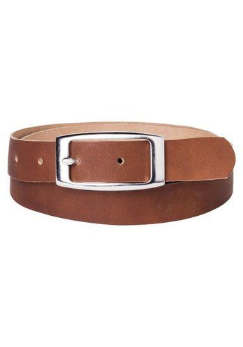 Damen sheego Accessoires Ledergürtel aus Rindsleder braun   04054697998986