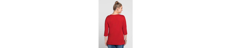Neue Stile Zu Verkaufen sheego Casual 3/4-Arm-Shirt Neueste Gute Qualität u4Bojd