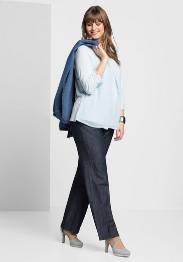 sheego Denim Weite Jeans