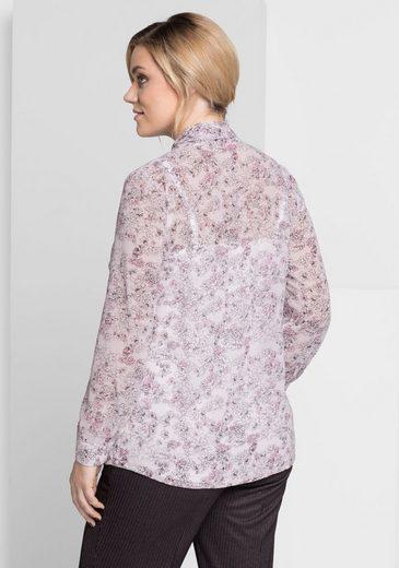 sheego Style Schluppenbluse