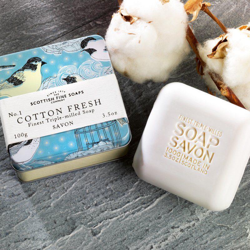 Scottish Fine Soaps Scottish Fine Soaps Seife Cotton Fresh