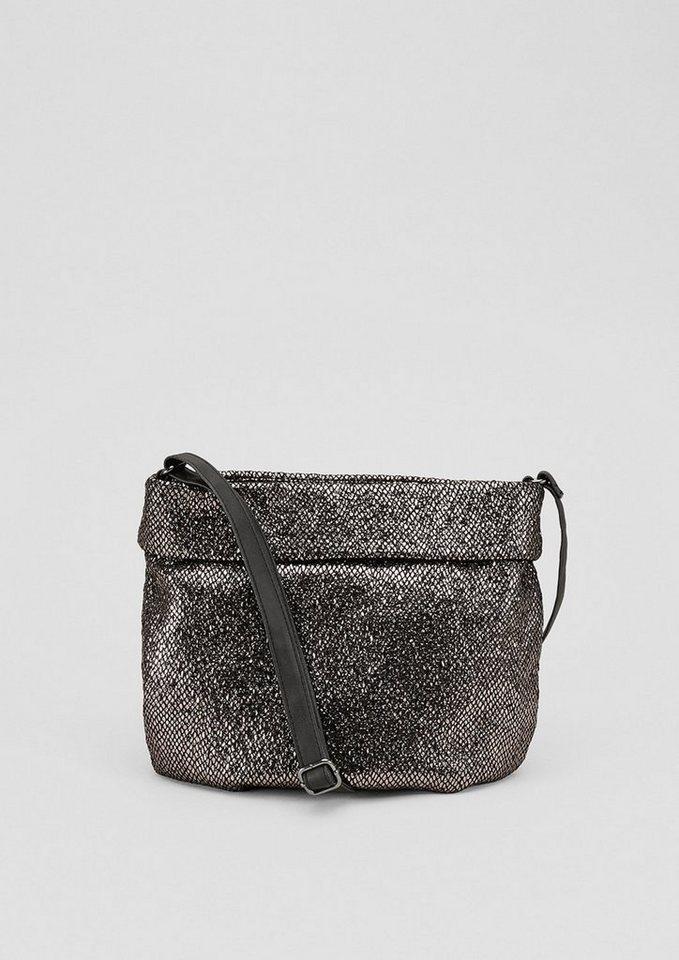 s.Oliver RED LABEL Metallic-Shoulder Bag mit Umschlag - Preisvergleich