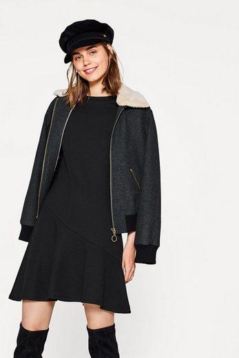 EDC BY ESPRIT Jersey-Kleid mit Volantsaum