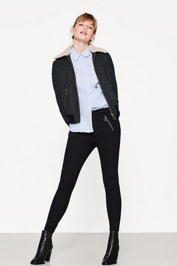 EDC BY ESPRIT Stretch-Hose mit Zipper-Taschen