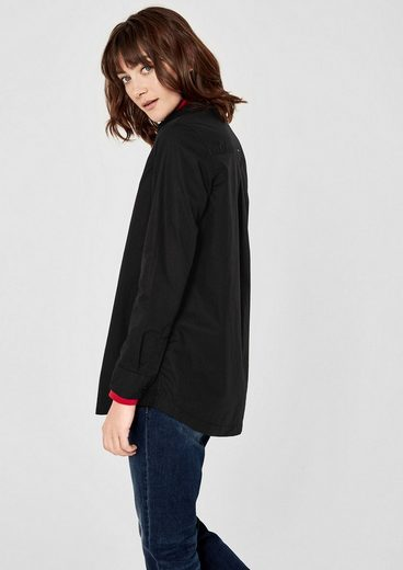 s.Oliver RED LABEL Klassische Bluse aus Baumwolle
