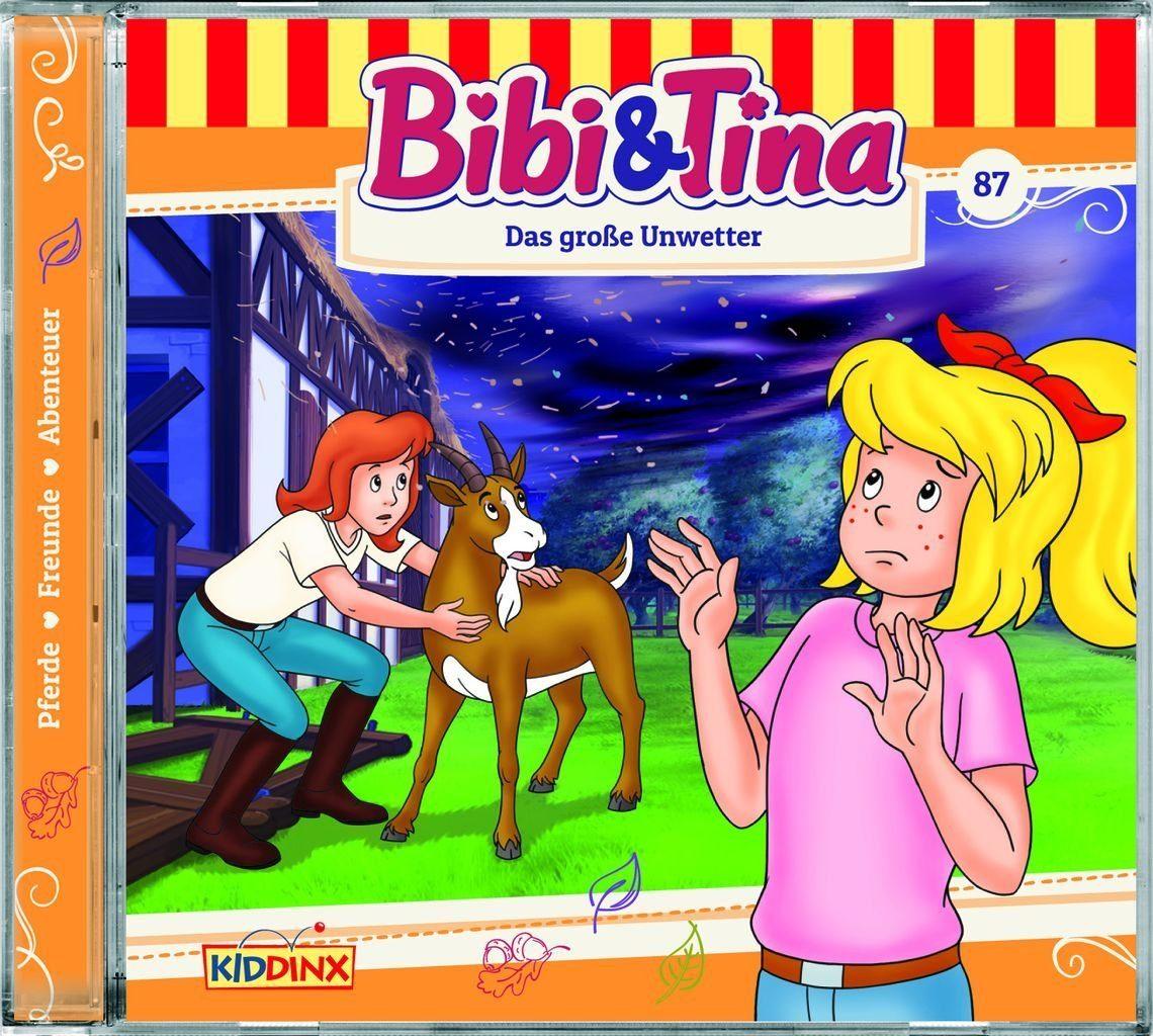 Kiddinx Hörbücher CD »Bibi und Tina - Das große Unwetter (87)«
