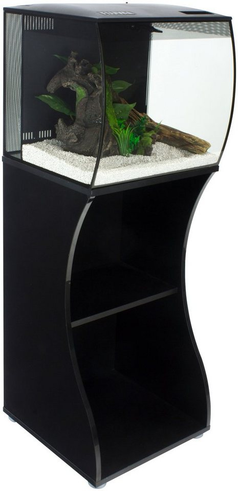 FLUVAL Aquarien-Set »FL Flex 57L«, Gesamtmaß: BxTxH: 42x41,5x115 cm, 57 l - Preisvergleich