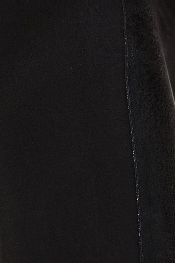 ESPRIT Leggings mit Front in Reptil-Optik