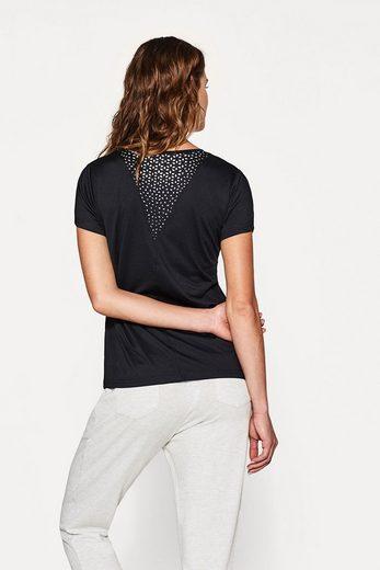 ESPRIT Active-Shirt mit Reflektor-Print, E-DRY