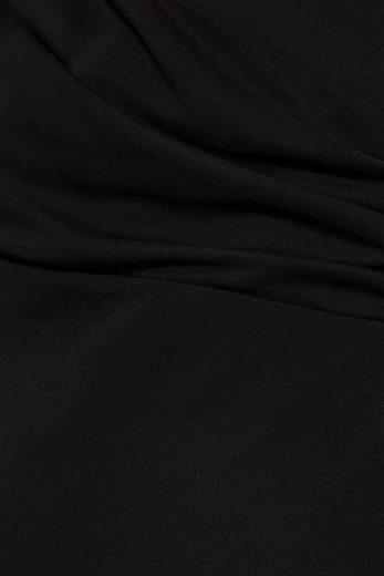 ESPRIT COLLECTION Jerseykleid mit Pailletten-Trägern