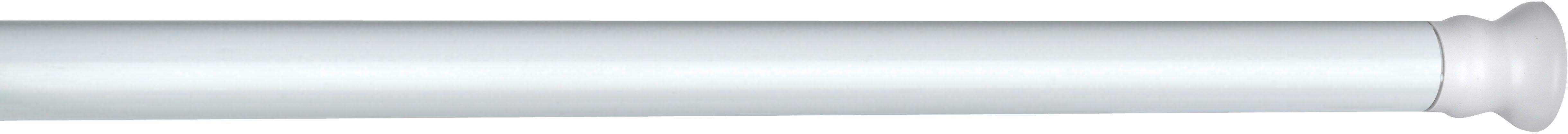 WENKO Teleskop Duschstange extra stark Weiß, 110 - 245 cm