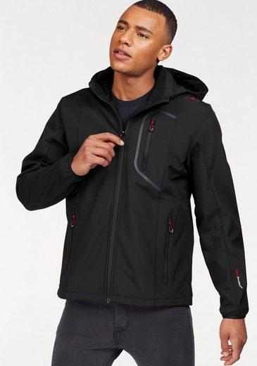 Cmp Softshell Jacket, Between Membrane With Waterproof