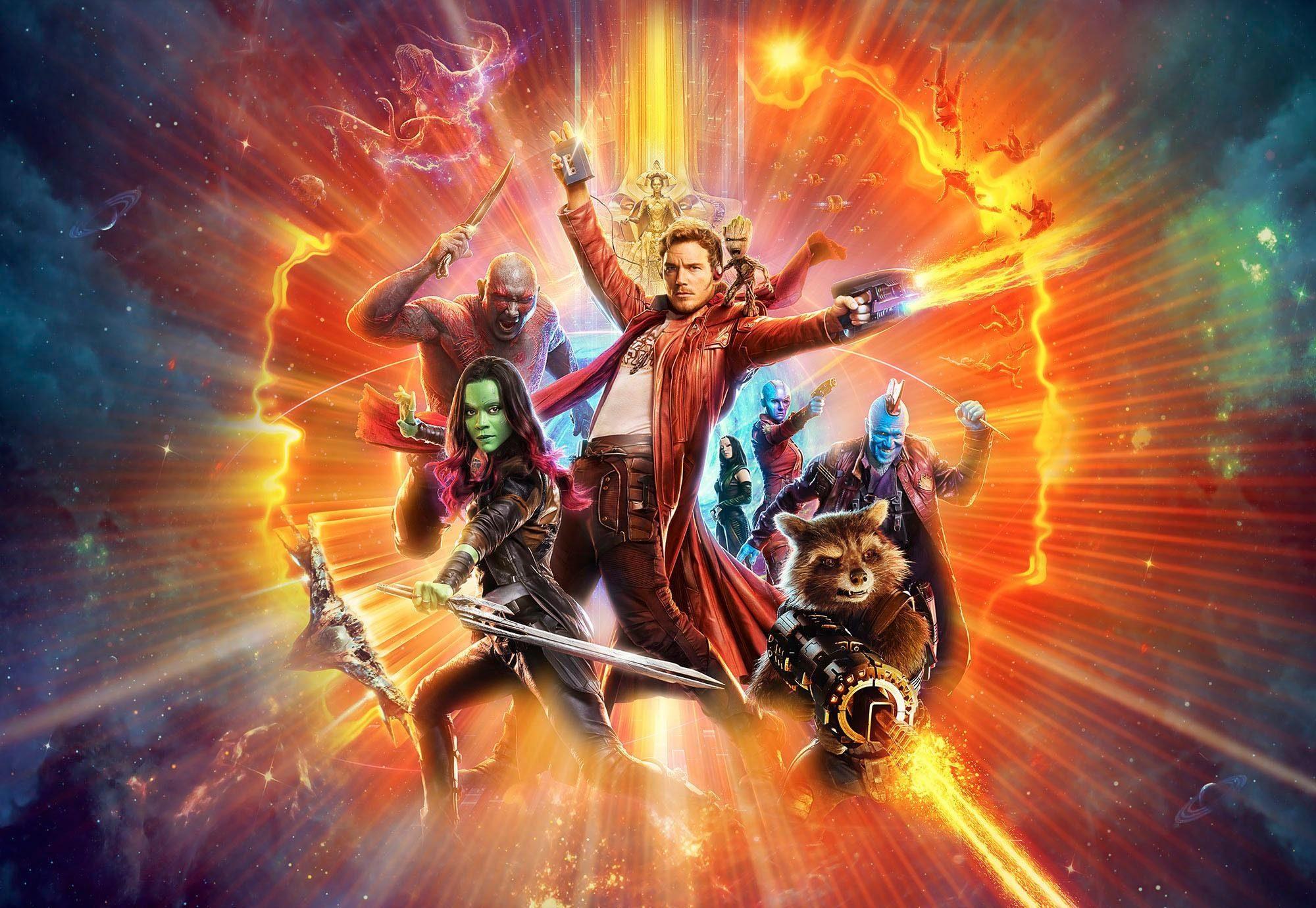 Komar Fototapete »Disney Guardians of the Galaxy« 368/254 cm