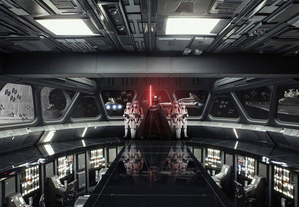komar fototapete disney star wars destroyer deck 368 254 cm online kaufen otto. Black Bedroom Furniture Sets. Home Design Ideas