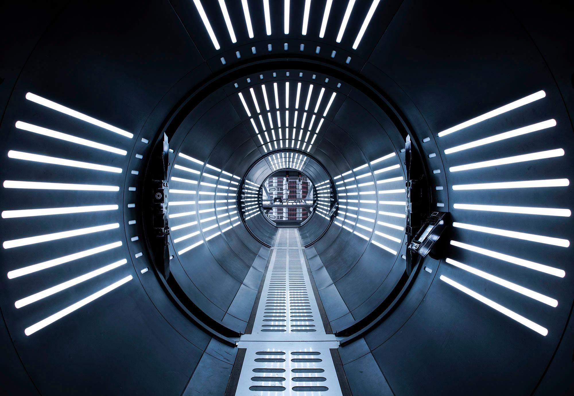 Komar Fototapete »Disney Star Wars – Tunnel« 368/254 cm