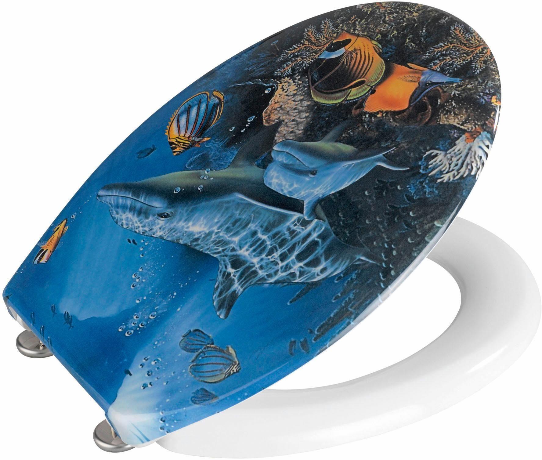 WENKO WC-Sitz »Sea Life«