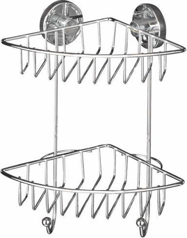 wenko vacuum loc eckregal bari befestigen ohne bohren online kaufen otto. Black Bedroom Furniture Sets. Home Design Ideas
