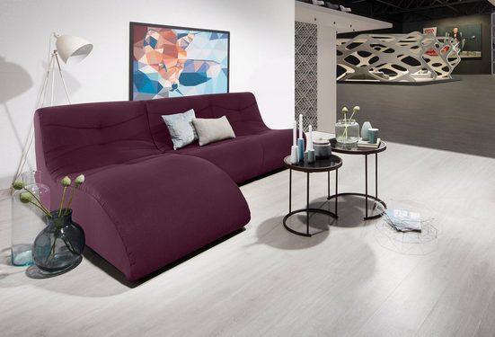 DOMO collection Ecksofa, mit Relaxelement