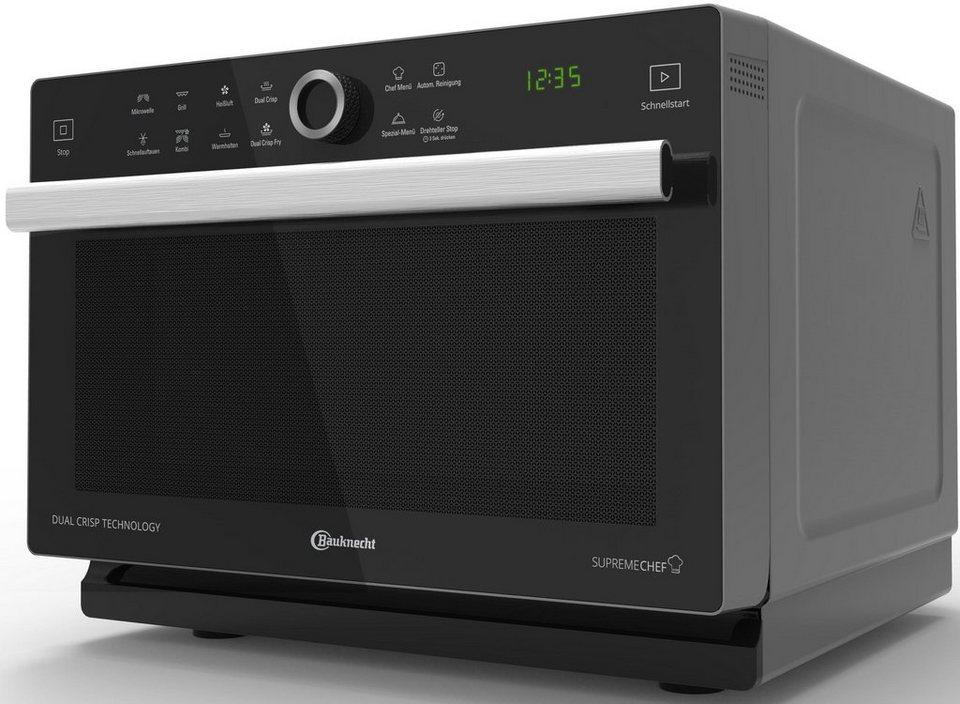 bauknecht mikrowelle mw 338 sb 900 w mit grill und hei luft online kaufen otto. Black Bedroom Furniture Sets. Home Design Ideas