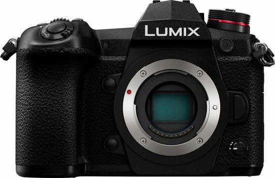 Lumix Panasonic »DC-G9EG-K« Systemkamera-Body (20,3 MP, WLAN (Wi-Fi), HDR-Aufnahme, Gesichtserkennung)